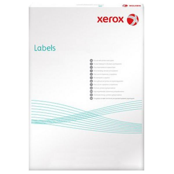 Наклейки Xerox Labels Laser/Copier 003R97400 (A4/100л/210x297mm)
